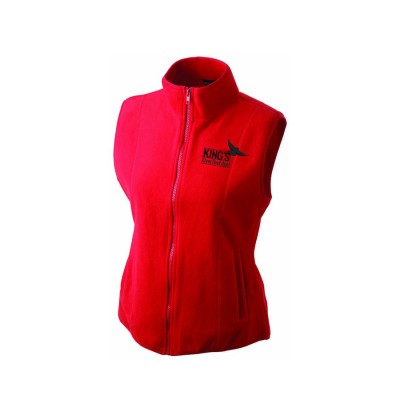 Girly Microfleece Gilet